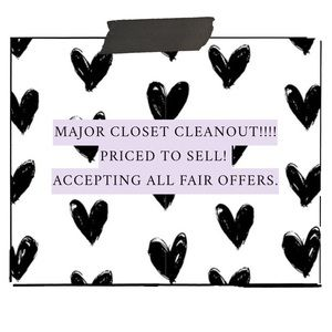 🖤✖️MAJOR CLOSET CLEAN OUT ✖️🖤